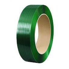 Лента полиэстеровая 16мм*1,0мм*1,1км (зеленая)
