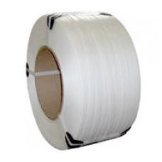 Лента полипропиленовая 19мм*1,0мм*1км (белая)