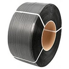 Лента полипропиленовая 19мм*1,0мм*1км (черная)